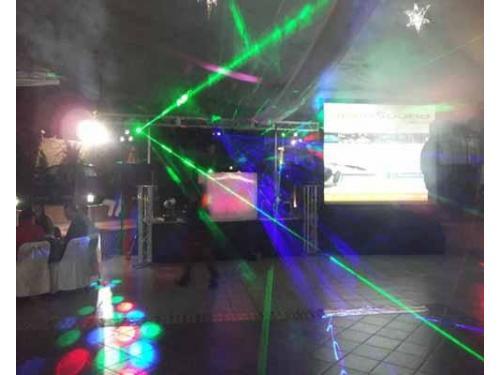 Laser en fiestas