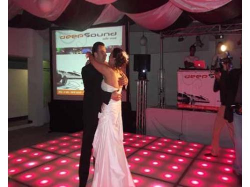 Los novios en su primer baile