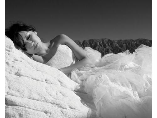 Sesión de fotos con tu vestido de novia