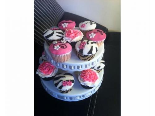 Torre cupcakes
