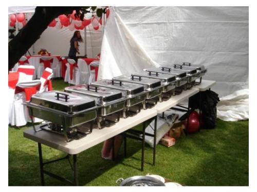 Chaffers para buffet