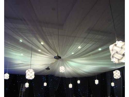 Telas con iluminación
