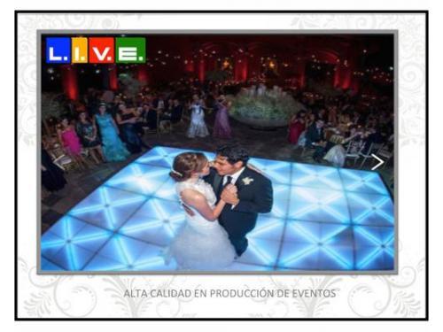 L.i.v.e. en las mejores bodas