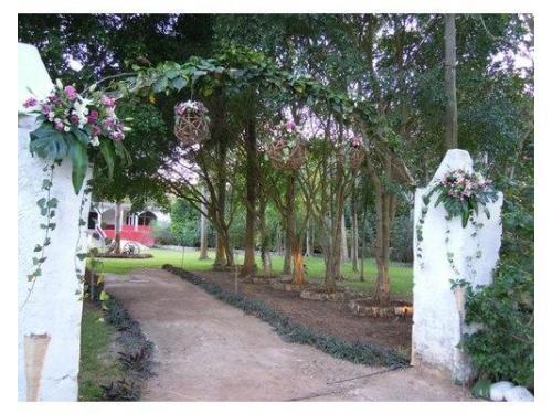 Entrada jardin principal