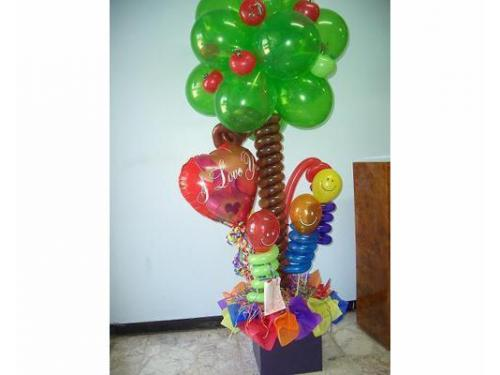 Arreglo con globos