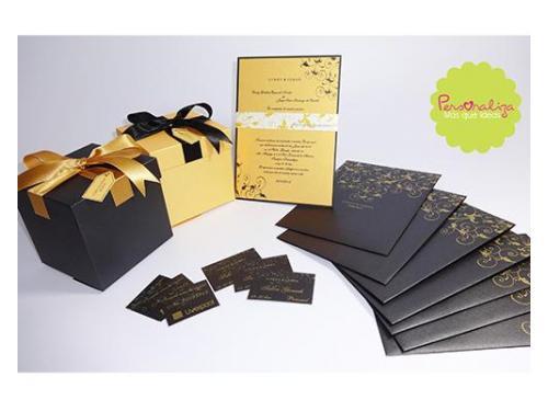 Invitaciones y cajas