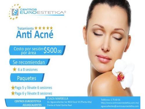 Paquete anti acné