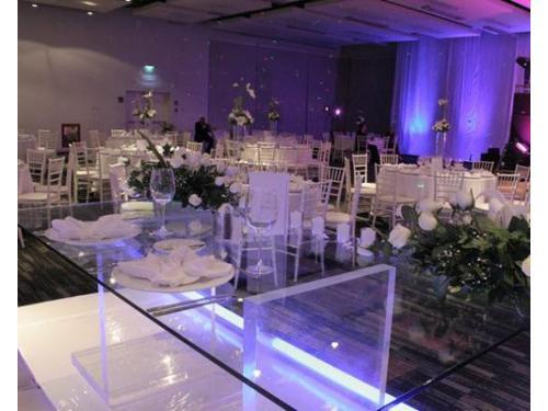 Audio e iluminación de la más alta calidad en el salón de tu magnífica boda