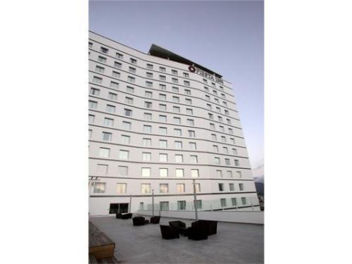 Hotel visto de la terraza