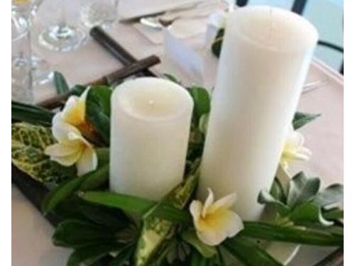 Diseños con velas