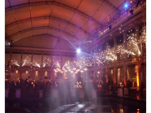 Iluminación y montaje para tu boda