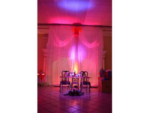 Iluminación para tu evento