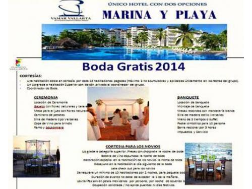 Marina y playa