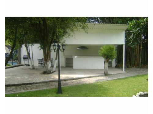 Terraza con asador