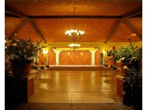 Gran salón para la boda
