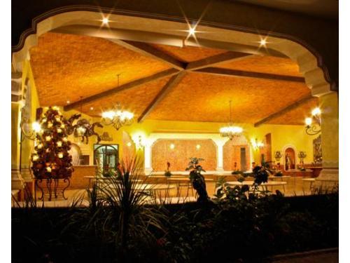 Hermosa decoración del salón