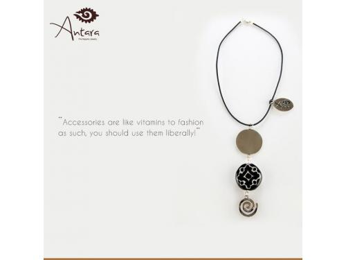 Accessories are like vitamins to fashion - as such, you should use them liberally!