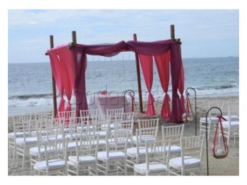 Estupenda organización para una boda inolvidable