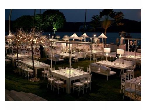 Elegante recepción en tu boda