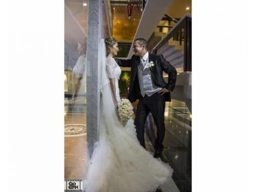 Original sesión de bodas