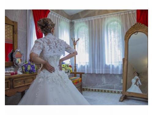Cobertura del arreglo de novia