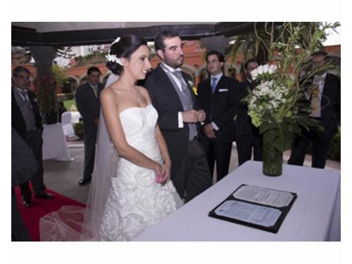 Cobertura de boda civil