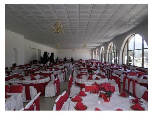 Amplio salón para tu evento