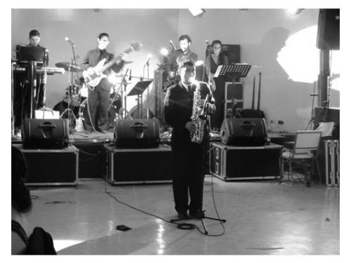Saxofón para la recepción
