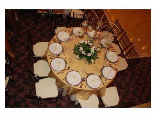 Montaje en mesa redonda