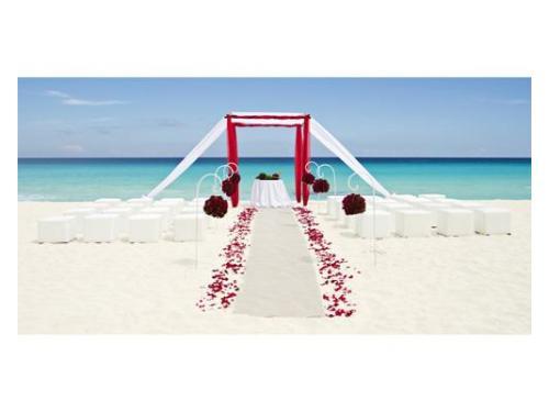 Decoración de ceremonias en playa