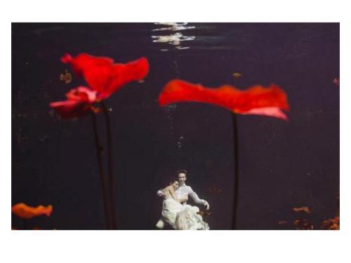 Foto en el agua