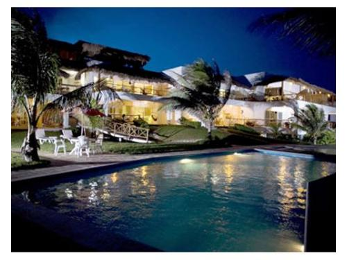 Las villas akumal de noche