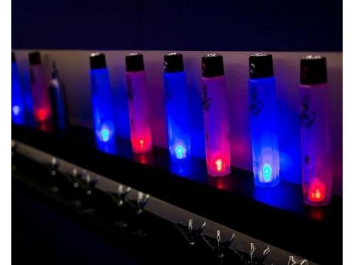 Shakers iluminados