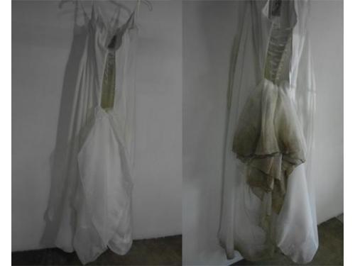 Limpieza de tu vestido novia