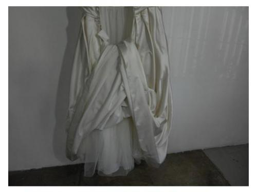 Expertos en restaurar vestidos de novia