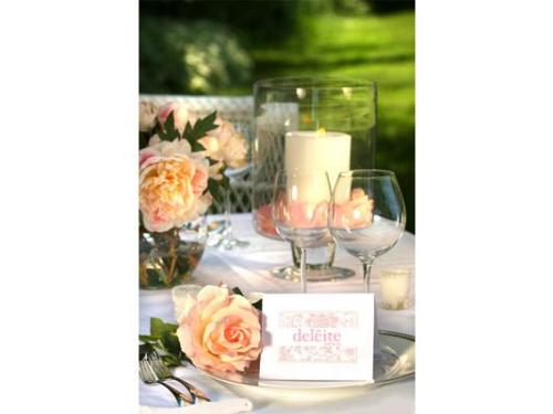 Románticos montajes para tu boda