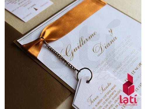 Especialistas en invitaciones de bodas