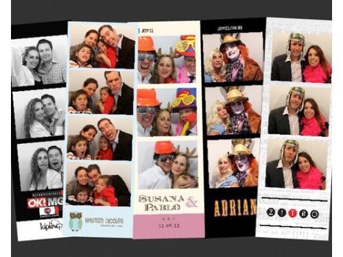 Divertidas fotografías de tus invitados
