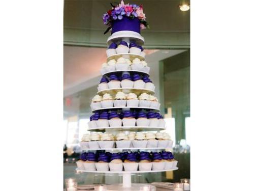 Torre de cupcakes