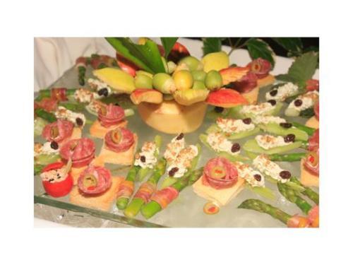 Diferentes tipos de canapés para tus invitados