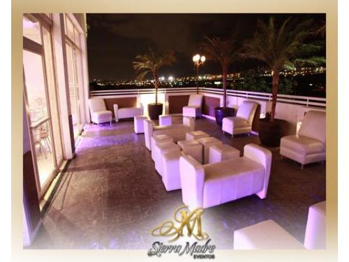 Salas lounge en la terraza