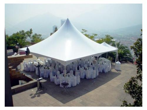Carpa blanca para boda